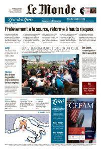 Le Monde du Vendredi 17 Août 2018