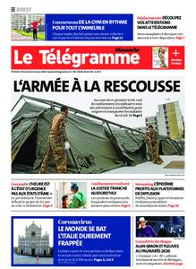Le Télégramme Landerneau - Lesneven – 22 mars 2020