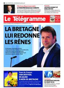 Le Télégramme Ouest Cornouaille – 28 juin 2021