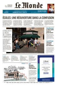 Le Monde du Mercredi 6 Mai 2020