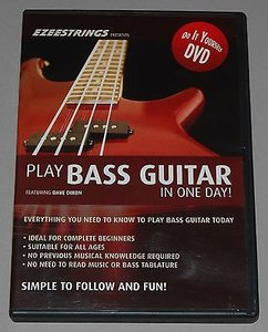 Play Bass Guitar in ONE DAY with Dave Dixon [repost]