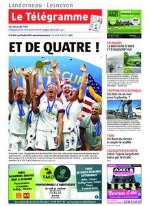 Le Télégramme Landerneau - Lesneven – 08 juillet 2019