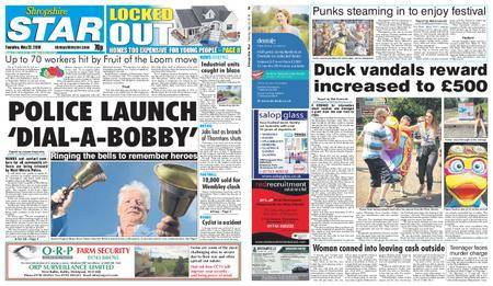 Shropshire Star Shrewsbury Edition – May 22, 2018