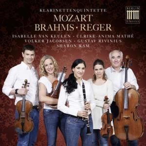 Sharon Kam - Mozart, Brahms & Reger: Klarinettenquintette (2015)
