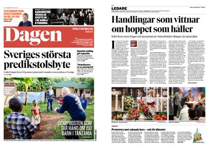 Dagen Sverige – 15 november 2019
