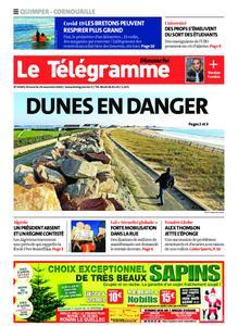 Le Télégramme Ouest Cornouaille – 29 novembre 2020