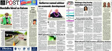 The Guam Daily Post – January 12, 2019