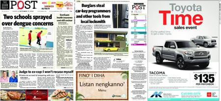 The Guam Daily Post – September 17, 2019