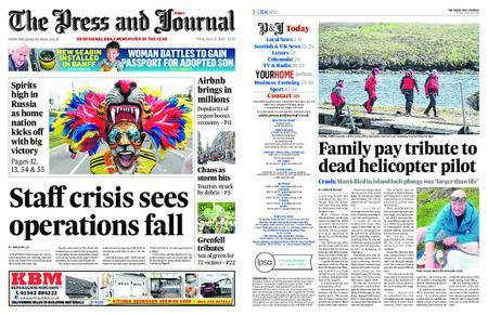 The Press and Journal Moray – June 15, 2018