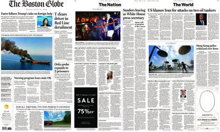 The Boston Globe – June 14, 2019