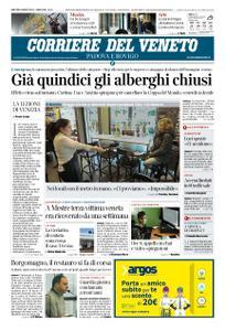Corriere del Veneto Padova e Rovigo – 03 marzo 2020