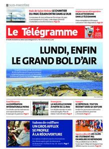 Le Télégramme Quimper – 08 mai 2020