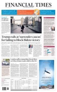 Financial Times USA - January 5, 2021