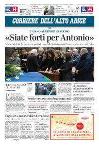 Corriere dell'Alto Adige – 21 dicembre 2018