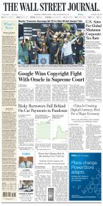 The Wall Street Journal - 6 April 2021