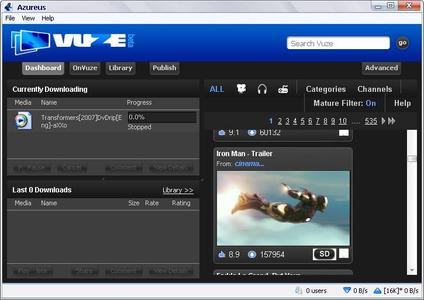Portable Azureus 3.0.3.4 (Vuze Beta) M.lang.