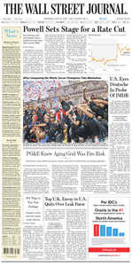 The Wall Street Journal – 11 July 2019