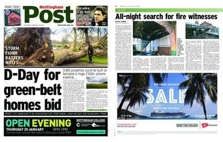 Nottingham Post – January 19, 2018