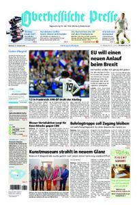 Oberhessische Presse Marburg/Ostkreis - 17. Oktober 2018