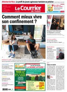 Le Courrier de l'Ouest Angers – 31 octobre 2020