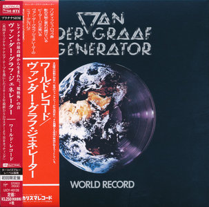 Van Der Graaf Generator - World Record (1976) [2015, Universal Music Japan, UICY-40139]