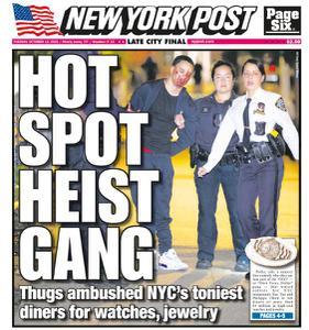 New York Post - October 12, 2021
