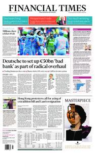 Financial Times UK – June 17, 2019