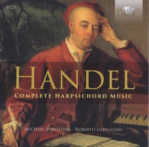 Handel - Complete Harpsichord Music (2016) {8CD Set Brilliant Classics 95235, Borgstede-Loreggian}