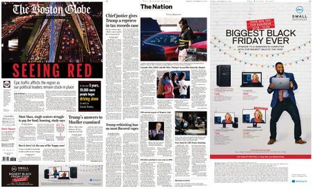 The Boston Globe – November 19, 2019
