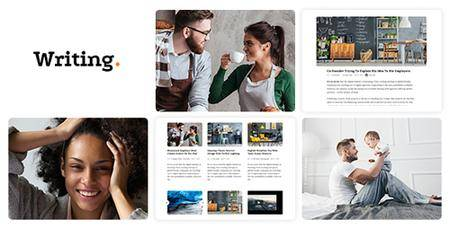 ThemeForest - Writing Blog v3.510 - Personal Blog - 11547928
