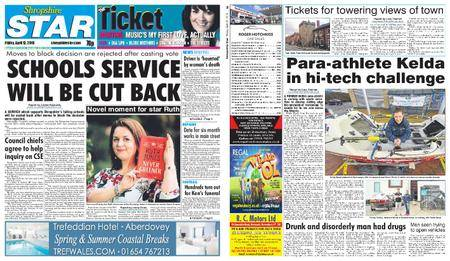 Shropshire Star Shrewsbury Edition – April 13, 2018