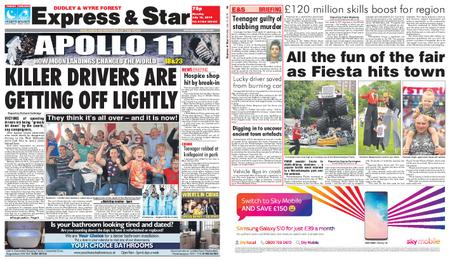 Express and Star Dudley and Wyre Forest Edition – July 15, 2019