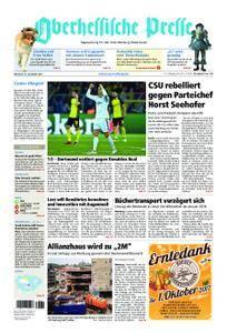 Oberhessische Presse Marburg/Ostkreis - 27. September 2017