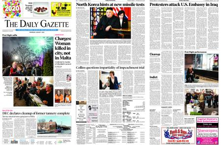 The Daily Gazette – January 01, 2020