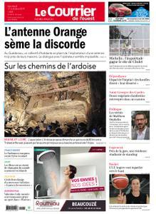 Le Courrier de l'Ouest Nord Anjou – 11 octobre 2019