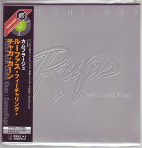 Rufus with Chaka Khan - Camouflage (1981) [2004, Japanese Paper Sleeve Mini-LP CD]
