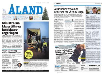 Ålandstidningen – 21 november 2019