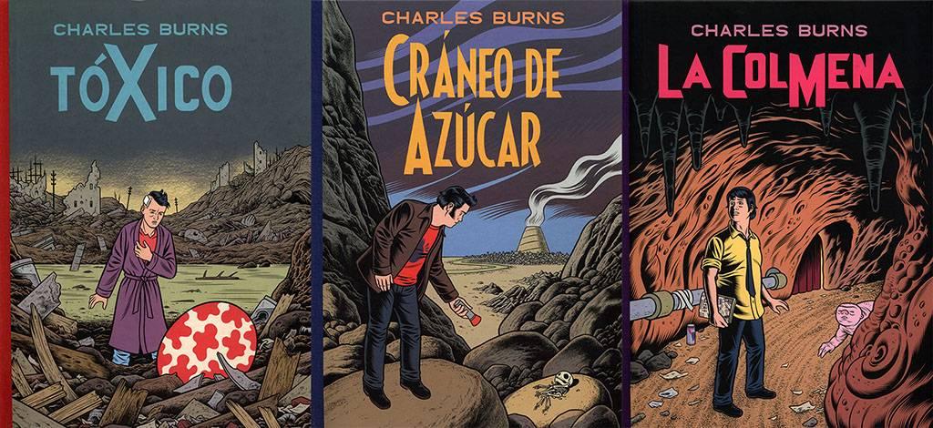 Tóxico, La colmena y Cráneo de azúcar (Trilogía de Charles Burns ...
