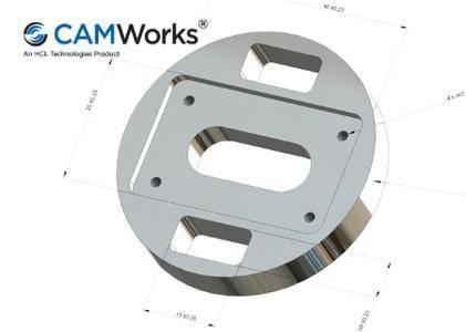 CAMWorks Tolerance Based Machining 2017.1