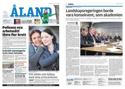 Ålandstidningen – 17 april 2018