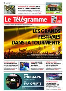Le Télégramme Brest – 10 mars 2020