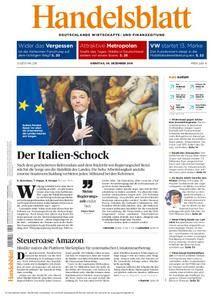 Handelsblatt - 06. Dezember 2016
