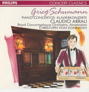 Grieg · Schumann · Piano Concertos · Arrau (1963)