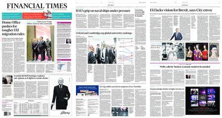 Financial Times UK – September 06, 2017