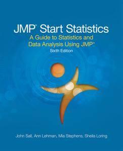 JMP Start Statistics: A Guide to Statistics and Data Analysis Using JMP, Sixth Edition