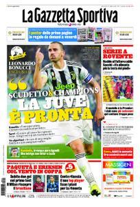 La Gazzetta dello Sport Roma – 07 giugno 2020