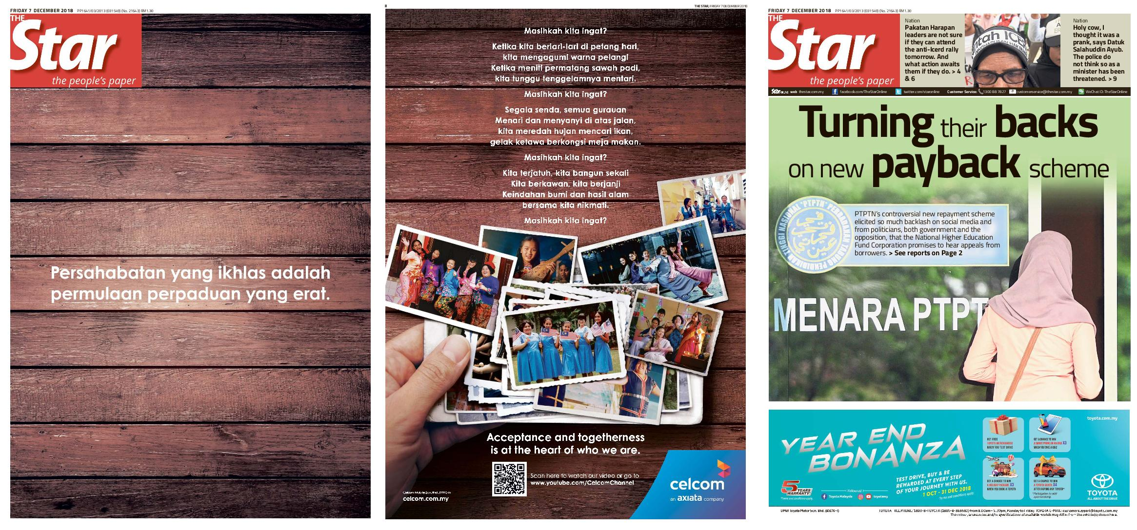 The Star Malaysia – 07 December 2018