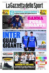 La Gazzetta dello Sport Roma – 08 ottobre 2020