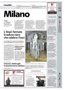 la Repubblica Milano - 12 Febbraio 2019