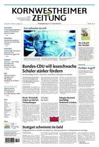 Kornwestheimer Zeitung - 16. Dezember 2017